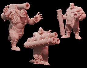 3D print model Pirate Gigants