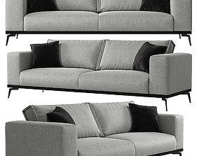 3D Tristan sofa Kaza do sofa