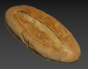 miscellaneous 3D Bread loaf