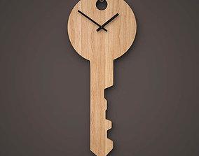 3D Clock the Key