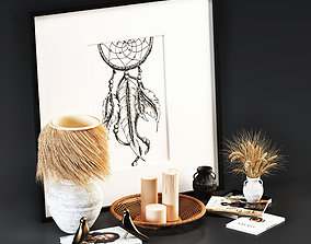 Decorative Set- Boho 3D