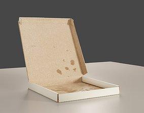 3D model Folding Pizza Box