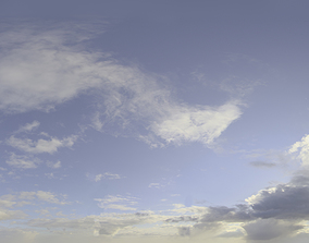 3D model Skydome HDRI - Day Clouds