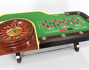 Roulette Set 3D