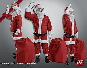 3D model Santa Claus Male ACC 51 60 001