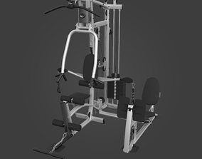 Home Gym-Exercise Equipment-11 3D asset