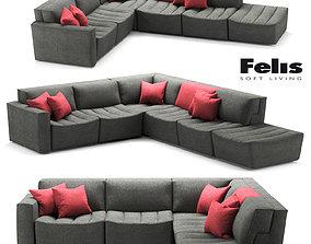 Sofa Felis Cozy 3D