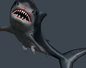 3DRT - Shark Jaws Pack animated