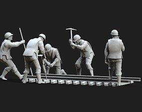 3D print model repair Railway