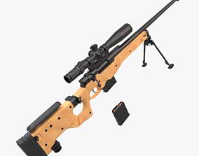 L115a3 awp sniper rifle 3D