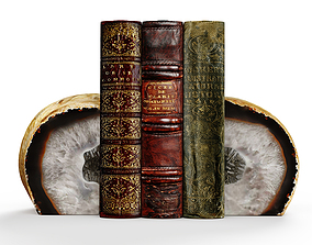 3D Agate book holder