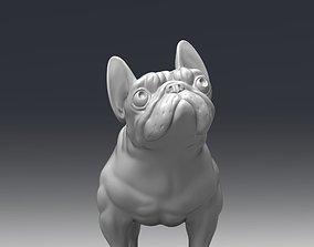 French bulldog 3D print model figurines