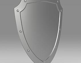 Medieval Shield old 3D model
