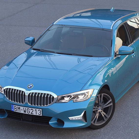 BMW 3-series Touring G21 2021