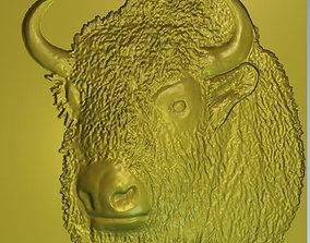 3D print model hoofed Bison