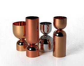 reflection Vases with Unique Shape 3D model