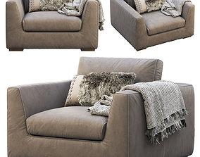 3D RH Modena Taper Arm Chair