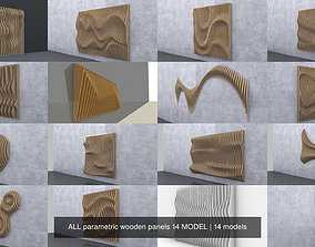 ALL parametric wooden panels 14 MODEL