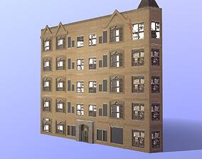 Strange house 3D asset