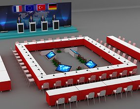 3d Session Room Stage 003