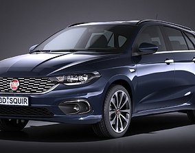 Fiat Tipo Station Wagon 2017 3D