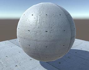 3D Concrete tile texture material