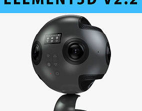 E3D - 3D Insta360 Pro 360 Degree Camera 3D model