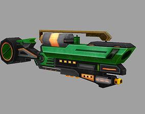 model gun low-poly
