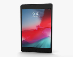 Apple iPad mini 2019 Cellular Space Gray 3D