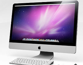 3D model Imac Computer Set magic