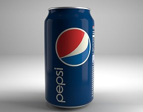 3D model game-ready Pepsi Can