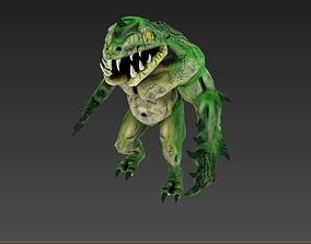 3D asset Character Monster