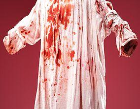 Bloody Queen Dress 3D asset