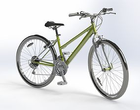 3D model sports bicycle