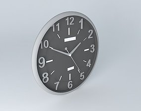 3D model wall Wall clock