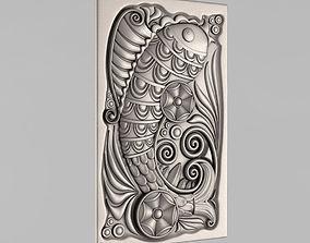 art 3D printable model Carved panels