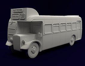 1950s Bristol LL5G Bus 3D printable model