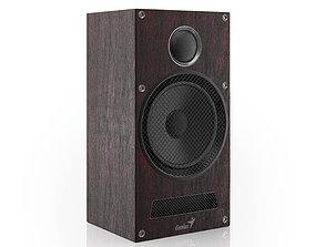 3D Wooden Speaker