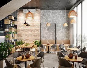 3D Scandinavian the Coffee House 2