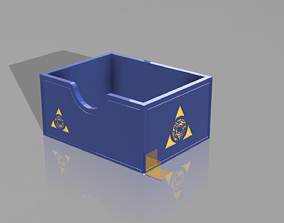 Magic The Gathering Card Compartment 3D printable model 1