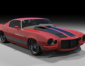 Chevrolet Camaro ProTouring 1970 3D model