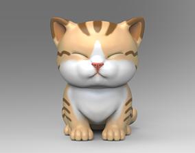 Cute Kitten V3 STL for 3D print model