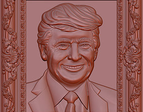 donaldtrump 3D Donald Trump Bust model