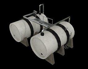 Industrial Tank 3D asset