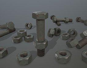 Bolts 3D asset realtime