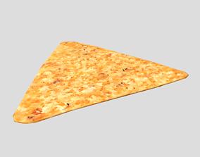 Tortilla Chip 3D asset