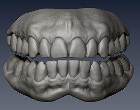 3D asset Realistic Teeth CG model