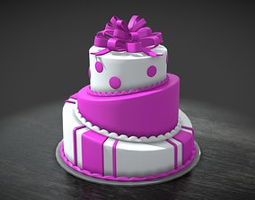 miscellaneous Cake Three Layers 3D model