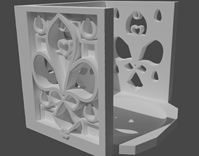 Gothic Candle holder 3D printable model