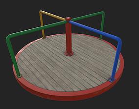 3D asset Playground Carousel